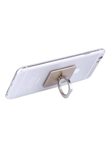 Jacobson Telefon Halkası Style Ring Selfie Yüzüğü Altın